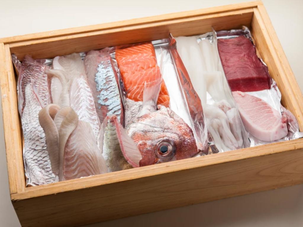 新鮮な季節の魚介