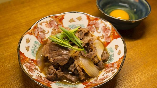 牛肉と九条ねぎのしぐれ煮